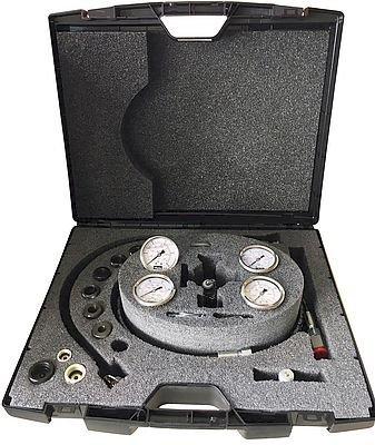 Mallette de contrôle des accumulateurs : Vérificateur et gonfleur SC-VGU Parker Olaer