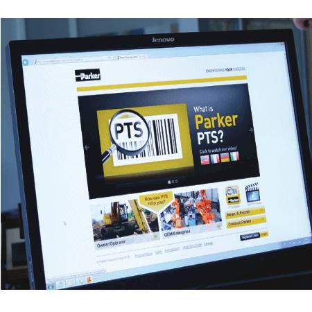 PTS - système de suivi Parker