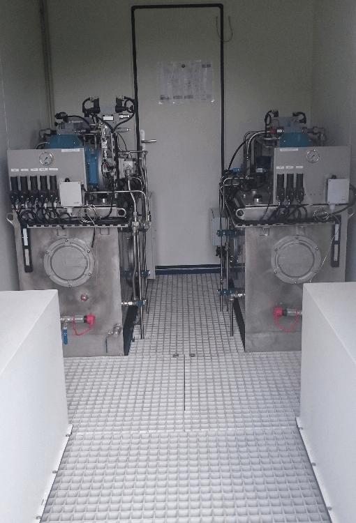 Remplacement de centrales hydrauliques de barrage
